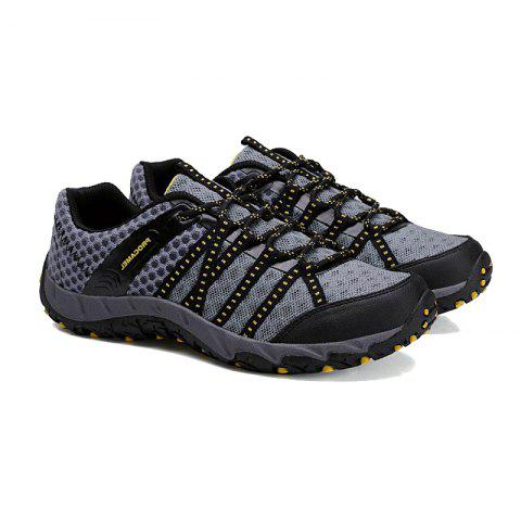 Latest Autumn Outdoor Air Snow Mountain Hiking Shoes Cloth Shoes Water Speed Interference