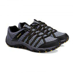 Autumn Outdoor Air Snow Mountain Hiking Shoes Cloth Shoes Water Speed Interference -
