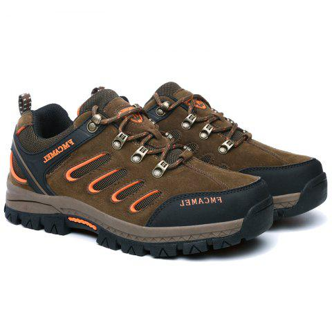 Unique 2017 New Autumn Hiking Shoes Male Anti-Skid Wear Men and Women Hiking Shoes Men'S Outdoor Sports Shoes
