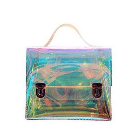 New Women's Transparent Messenger Shoulder Bag Crossbody Bag Clear Handbag Tote