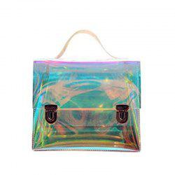 Women's Transparent Messenger Shoulder Bag Crossbody Bag Clear Handbag Tote -