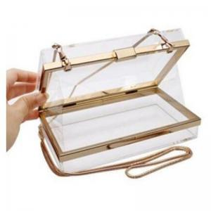 Luxury Acrylic Fashionable Transparent Evening Clutches Shoulder Bags Handbag for Women Ladies Gift Ideal -