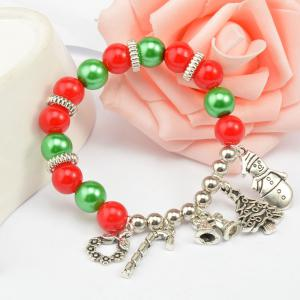 DIY Christmas Charm High Quality Murano Bead For Women Jewelry Gift -