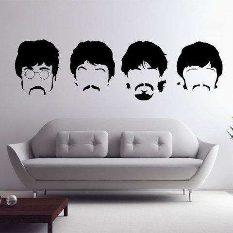 Buy Beatles Wall Decals New Designs Removable Music The Beatles Vinyl Wall Stickers Home Decor