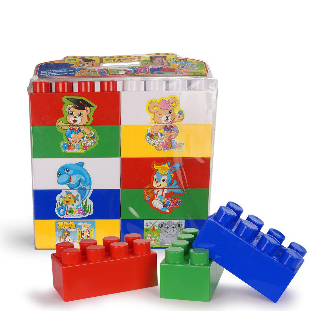 Affordable Baby enlightenment plastic puzzle toy