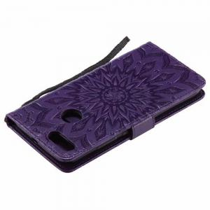 Pure Color Sunflower Pattern Leather for Xiaomi 5X -