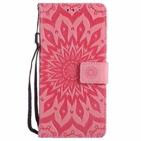 Sale Pure Color Sunflower Pattern Leather for Xiaomi 5X