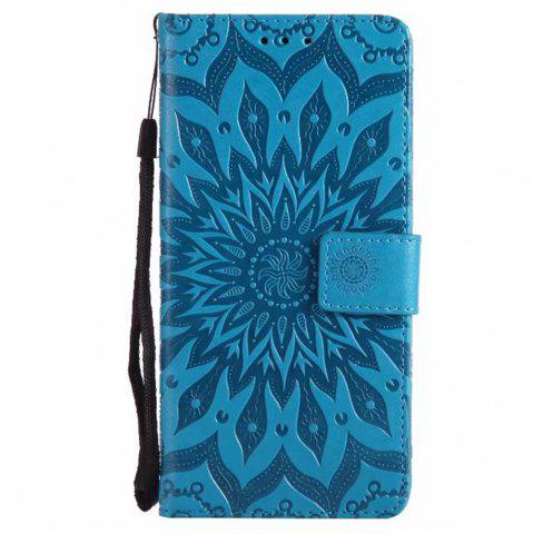 Discount Pure Color Sunflower Pattern Leather for Xiaomi 5X