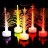 Fiber Optic Christmas Tree Mini LED Christmas Tree -