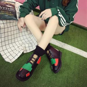 Winter Cotton Fashion Casual and Low Heel Boots -