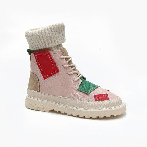 Best Winter Cotton Fashion Casual and Low Heel Boots