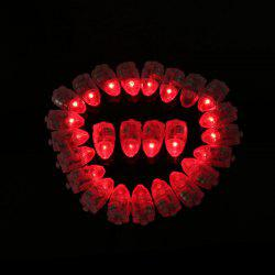 10pcs LED Glowing Light Bulbs Set Balloon Decorative Mini Lamp Bulbs -