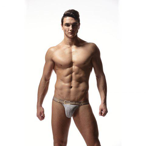 Cheap Low-waisted T-thongs in Men's Underwear