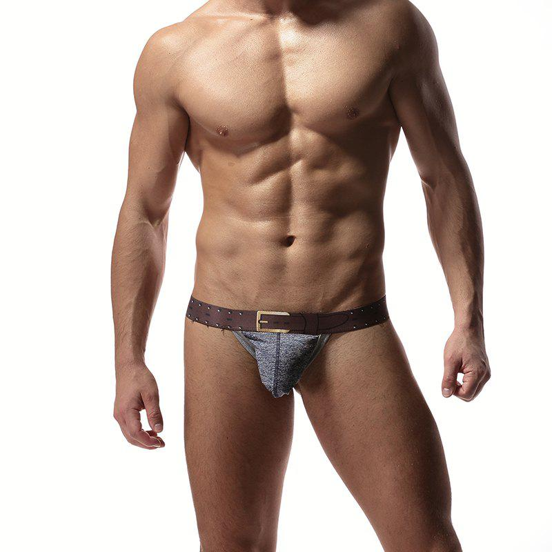 Trendy Low-waisted T-thongs in Men's Underwear