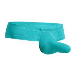Low Waist Sexy Open Buttock Men's Underwear -