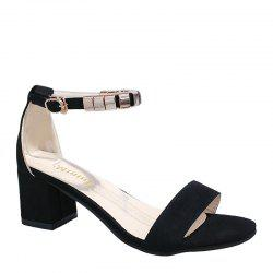 Lady Toe Coarse Boucle Boucle Hairtail All-match Casual Sandales -