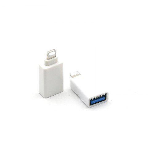Cheap USB OTG Adapter Converter with Switch Portable Only Support  for IOS 10.2 and Below