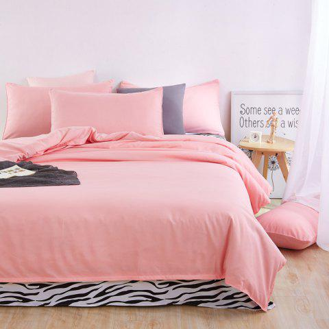 Buy Aloe Vera Cotton Zebra Sheet and Pure Color Quilt for Children'S Three-Piece Bedding Sets