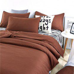 Aloe Vera Cotton Zebra Sheet and Pure Color Quilt for Children'S Three-Piece Bedding Sets -