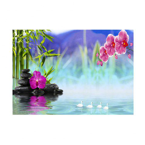 Fancy Naiyue 7085 Fantasy Lake Color Print Draw Diamond Drawing