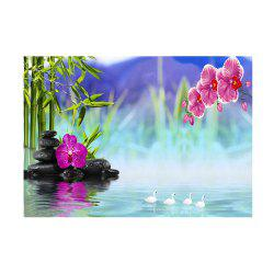 Naiyue 7085 Fantasy Lake Color Print Draw Diamond Drawing -