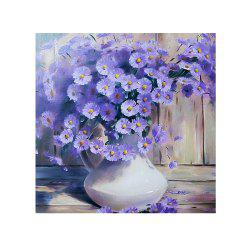 Naiyue 7091 Purple Daisy Print Draw Diamond Drawing -