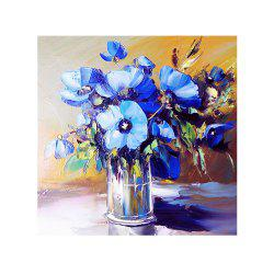 Naiyue 7092 Blue Flower Print Draw Diamond Drawing -