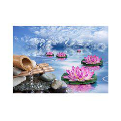 Naiyue 7093 Landscape Lacustrine Print Draw Diamond Drawing -