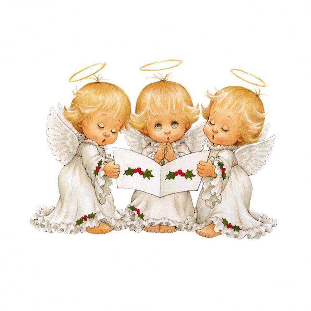 Best Naiyue 7097 Three Small Angel Print Draw Diamond Drawing