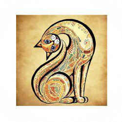 Naiyue 7098 Long Neck Cat Print Draw Diamond Drawing -