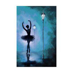 Naiyue 9008 Dancing Girl Print Draw Diamond Drawing -