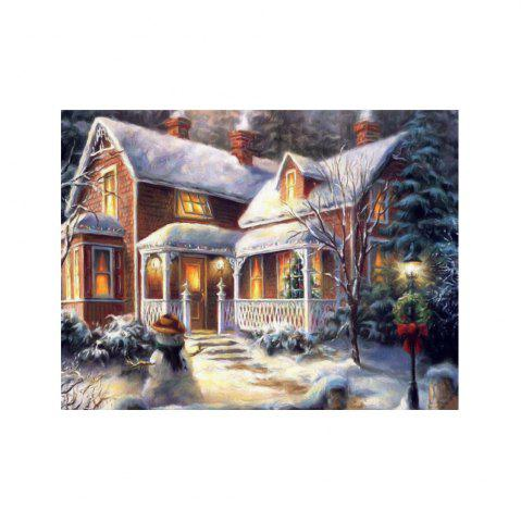 Best Naiyue 7132 Forest Villa Print Draw Diamond Drawing