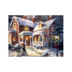 Naiyue 7132 Forest Villa Print Draw Diamond Drawing -