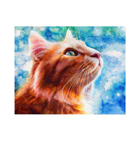 Shops Naiyue 9011 Cat Print Draw Diamond Drawing