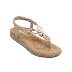 Ms Diamond Beach Slip-On Sandals -