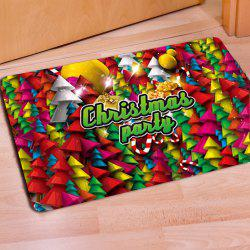 Doormat Anti Slip Entry Way Floor Mat for Bathroom Bedroom Kitchen Living Room Water-Absorbing Christmas Doormat -