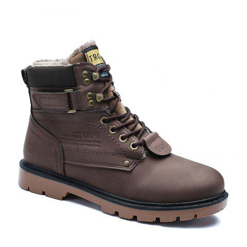 Discount SX69 Casual Leather Shoes and Velvet Martin Boots