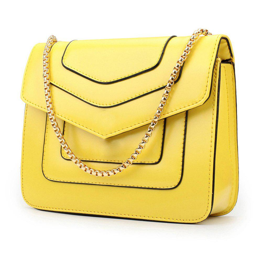 Cheap New Splicing Chain Women's Single Shoulder Slanted Slanted Crossbody Bag