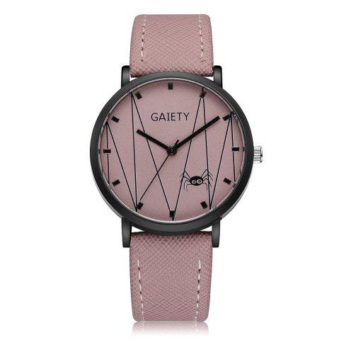 Best GAIETY G491 Leather Fashion Quartz Watch