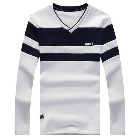 Fancy Male Cashmere Long Sleeved T-Shirts