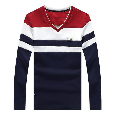Discount Male Cashmere Long Sleeved T-Shirts