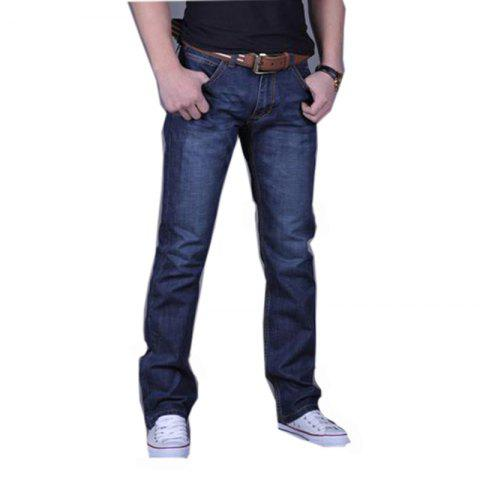 Cheap Men's Casual Work Sport Pure Pant Jeans