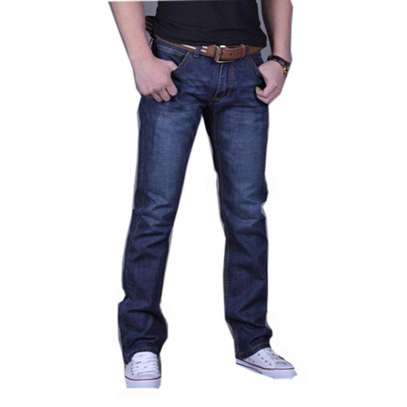 Chic Men's Casual Work Sport Pure Pant Jeans