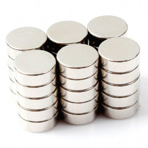 Discount Round Cylinder Magnets 8X3 Mm  Multi-Use for Fridge Door Whiteboard Magnetic Map Bulletin Boards Refrigerators 35 Pcs