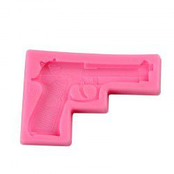 Facemile Gun Pistol 3D Silicone Candy Clay Gum Sugar Chocolate Ice Mold Fondant Mold Cake Decorating Tool -