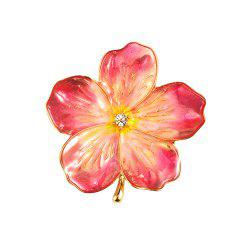 Peach Blossom Brooch Jewelry Women Brooches for Scarf -