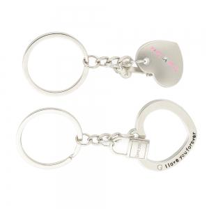 Heart-shaped Valentine's Day Keychain Favors Wedding Souvenirs men and women key ring Gifts -
