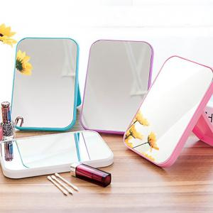 DIHE Cosmetic Make Up Mirror Table Model Square Fold -
