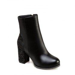 New Style High Heeled Boots Fashion Ladies' Boots -