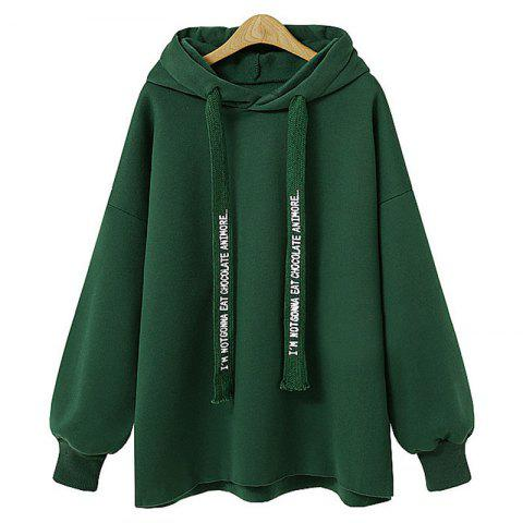 Cheap Comfortable and Stylish Loose Hooded Coat Female